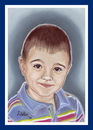 Cartoon: Mihai (small) by Kidor tagged child,kidor