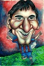 Cartoon: Lionel Messi (small) by gogna caricaturas tagged messi