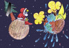 Cartoon: christmas 2??? (small) by Hossein Kazem tagged christmas