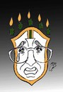 Cartoon: cry for brazil (small) by Hossein Kazem tagged cry,for,brazil