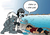 Cartoon: pinochio and war (small) by Hossein Kazem tagged pinochio,and,war
