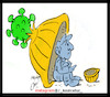 Cartoon: worker day (small) by Hossein Kazem tagged worker,day