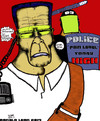 Cartoon: To OPPRESS and SUBJUGATE 2 (small) by DaD O Matic tagged ferguson,oakland,new,york,city,gaza,policestate