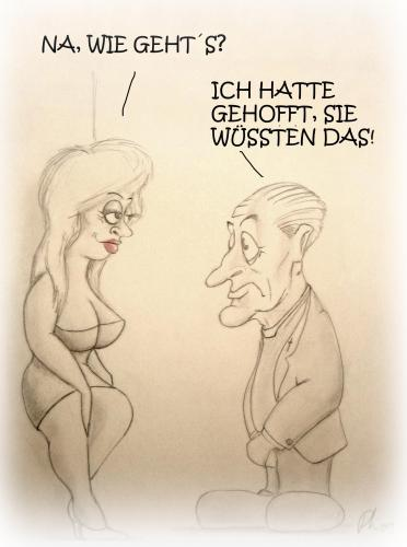 Cartoon: Besserwisser (medium) by philipolippi tagged pfarrer,nutte