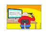 Cartoon: Last Resort (small) by bobele tagged computer