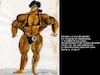 Cartoon: Arnis Unglück (small) by Mol tagged bodybuilding,muskelaufbau,sport,body