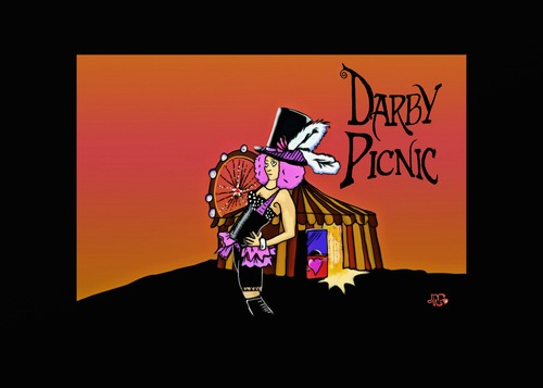 Cartoon: Darby Picnic (medium) by tonyp tagged arp,darby,picnic,music,club