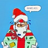 Cartoon: Beard ads (small) by tonyp tagged arp,santa,xmas,arptoons,anthony,acpritch2