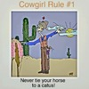 Cartoon: Cow Girl Rule no. 1 (small) by tonyp tagged arp,arptoons,girl,cow