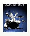 Cartoon: Drummer poster (small) by tonyp tagged arp,drums,musicians