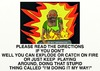Cartoon: FIRE WARNING (small) by tonyp tagged arp,fire,burn,arptoons