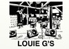 Cartoon: LOUIE G S INSIDE (small) by tonyp tagged louie gs arp arptoons bar drink