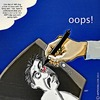 Cartoon: OOPS (small) by tonyp tagged arp,oops,drawing,mistake,ouch,arptoons