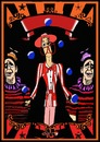 Cartoon: Poster blank (small) by tonyp tagged arp circus tall man poster