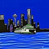 Cartoon: Seattles  shoreline (small) by tonyp tagged arp,tonyp,arptoons,wacom,draw,seattle,seattles,shore,city