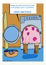 Cartoon: STUCK DOING LAUNDRY (small) by tonyp tagged arp,clothes,dirty,laundry,stuck,help,arptoons