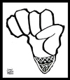 Cartoon: Mandela (small) by juniorlopes tagged mandela