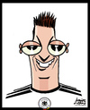 Cartoon: Mesut Ozil (small) by juniorlopes tagged world cup