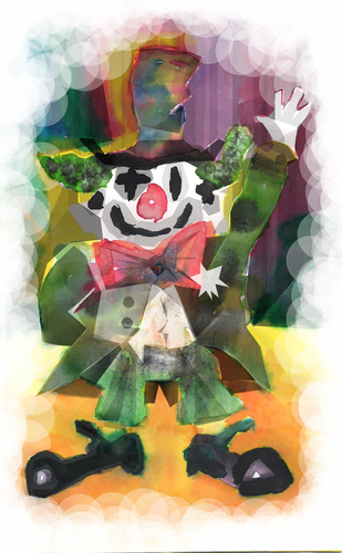 Cartoon: clown... (medium) by ivo tagged wow