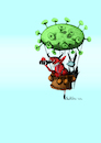 Cartoon: C19 (small) by ivo tagged wow