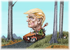 Cartoon: donald (small) by ivo tagged wow