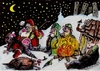 Cartoon: Merry Xmas!!! (small) by ivo tagged wau