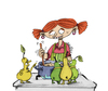 Cartoon: ilustration (small) by ivo tagged wow