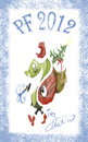 Cartoon: pf 2012 (small) by ivo tagged wow