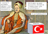 Cartoon: Absolutist (small) by RachelGold tagged turkey,presidential,election,erdogan,dictatorship,sultan,pseudo,democracy,hitler,ottoman