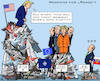 Cartoon: EU NATO Arming (small) by RachelGold tagged nato,eu,summit,usa,belgium,uk,france,germany,turkey,russia,trump,macron,junckers,merkel,erdogan,putin,arms,weapons,war,warmongers,peace