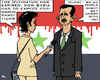 Cartoon: Sanctions (small) by RachelGold tagged syria,ultimatum,arab,league,sanctions,assad,violence,protesters