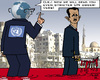 Cartoon: UN Warninng (small) by RachelGold tagged un,syria,assad,slaughtening,warning