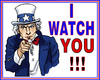 Cartoon: Uncle Sam (small) by RachelGold tagged usa,spying,nsa,uncle,sam
