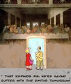 Cartoon: Supper! (small) by aarbee tagged supper tourist
