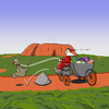 Cartoon: Christmas - down under (small) by Thorsten Klomfass tagged weihnachten,weihnachtsmann,känguru,kutsche,hindernis,christmas,santa,claus,kangaroo,carriage,outback,ayers,rock