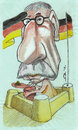 Cartoon: Thilo Sarrazin (small) by zed tagged thilo sarrazin germany politician portrait caricature