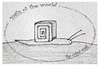 Cartoon: the cubist snail - no.7 (small) by schmidibus tagged schnecke,welt,kubismus,kunst