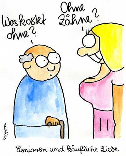 Freier alter junger homosexueller Cartoon