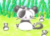 Cartoon: Kitty or Panda III (small) by Metalbride tagged traiding,card,crads,karten,karte