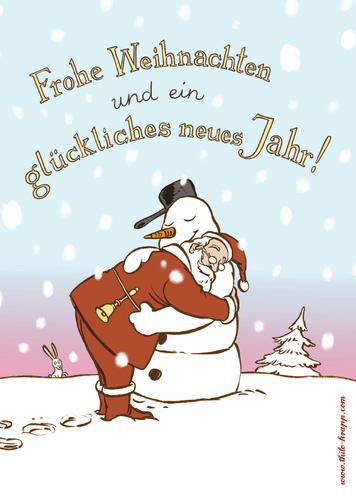 Weihnachtsgrüße Deutsch.Weihnachtsgrüße Von Thilo Krapp Religion Cartoon Toonpool