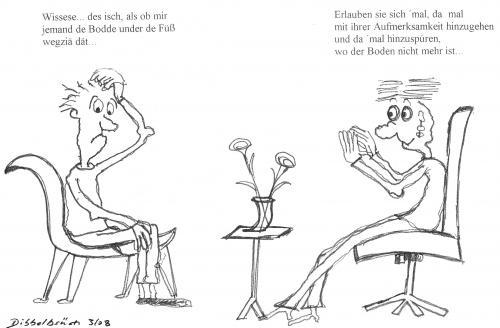 Boden weg von dibbelbs ch philosophie cartoon toonpool for Boden cartoon