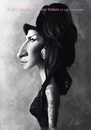Cartoon: Amy Winehouse (small) by slwalkes tagged digital singer painting walkes