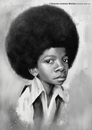 Cartoon: Michael Jackson (small) by slwalkes tagged digitalpainting caricature digitalart