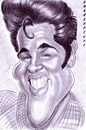 Cartoon: Elvis Presley (small) by shar2001 tagged caricature,elvis,presley