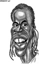 Cartoon: Gael Monfils (small) by shar2001 tagged caricature,gael,monfils