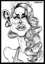 Cartoon: Lana del rey (small) by shar2001 tagged caricature,lana,del,rey