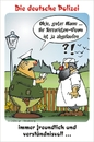 Cartoon: Personen-Kontrolle (small) by BARHOCKER tagged ausländer,polizist,touristen,visum