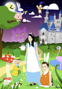 Cartoon: Svenja im Wunderland (small) by Playa from the Hymalaya tagged alice,wonderland,wunderland,märchen,tale,benny,bunny