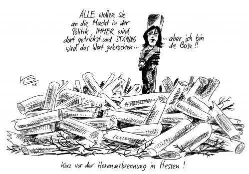 Hexe von stuttmann politik cartoon toonpool for Koch ypsilanti
