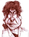 Cartoon: Bob Dylan (small) by horate tagged music